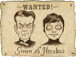 Wanted: Simon and Hecubus by Devilry