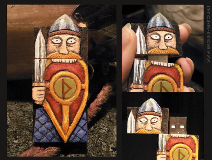 Berserk Viking USB by Devilry