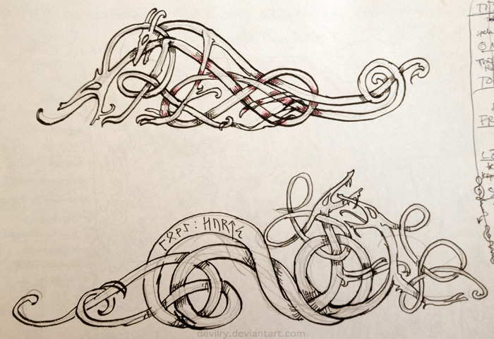 Best 25 Viking knotwork ideas on Pinterest  Viking art