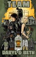 Team Daryl and Beth by batmankm