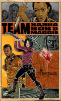 Team Maggie Sasha and Bob by batmankm