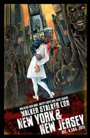 Walker Stalker Con 2015 NY/NJ poster-Reg Version by batmankm