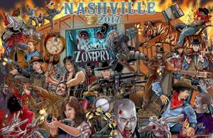 WSC Nashville 2017 Show Poster by batmankm