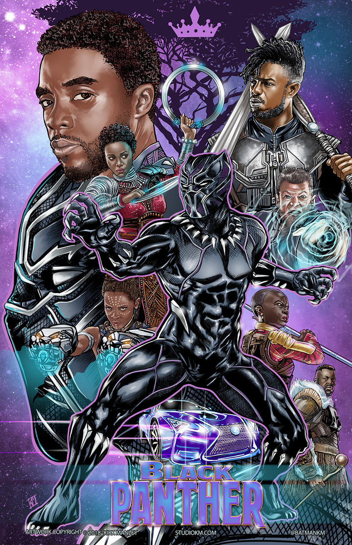Black Panther by batmankm