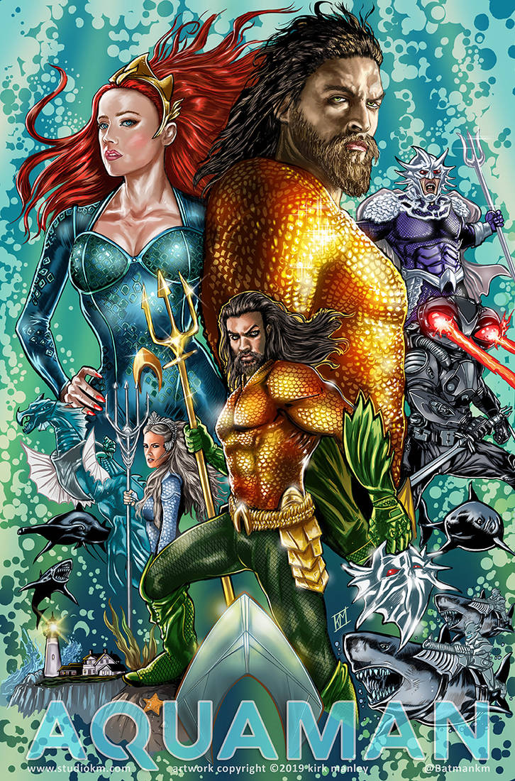 Aquaman by batmankm