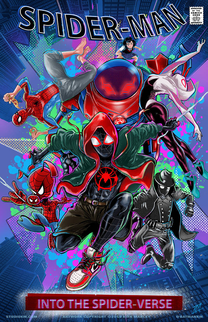 Spiderverse by batmankm