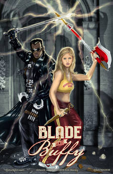 Blade and Buffy
