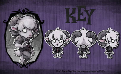 Don't Starve Together MOD commission - Key by Kiibie
