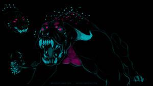 Neon demon redesign sketch