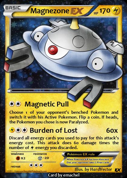 Pokemon Magnezone Ex