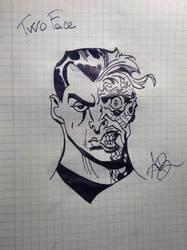 Two Face by Kid-Jabberwocky