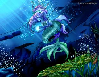 Freya - Mermay by Harp-Darkthrope