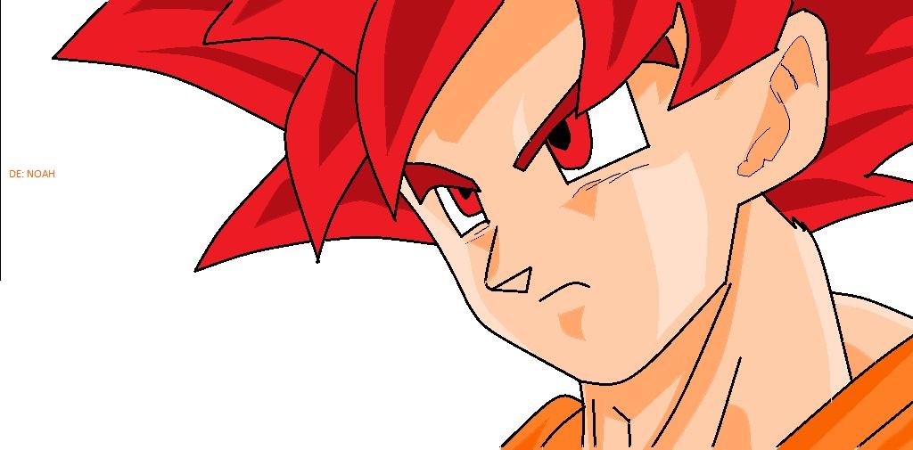 Goku super saiyayin dios by Noakuz on DeviantArt