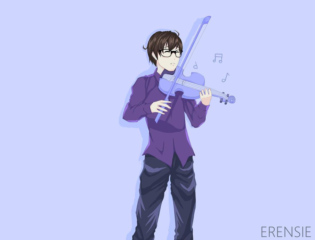 Violinist by erensie