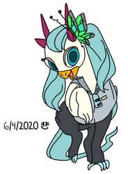 Hatsune Miku Ponified/Griffonized