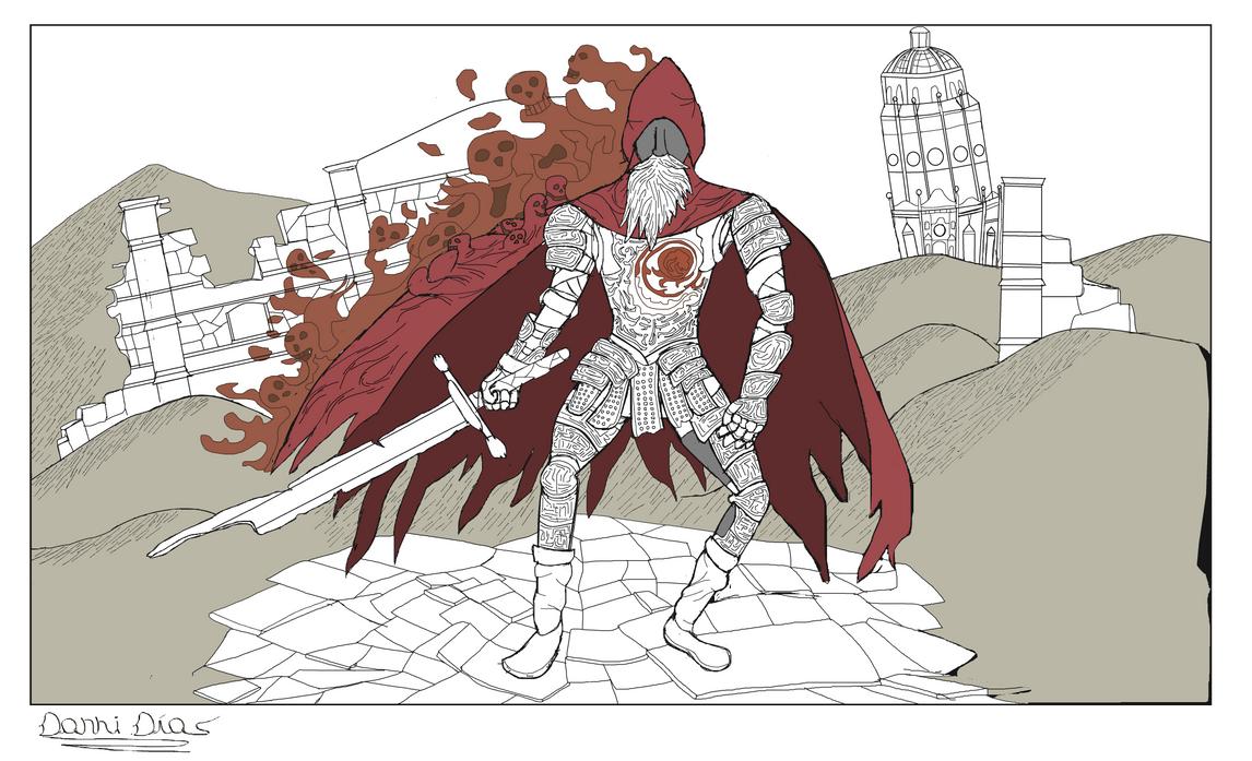 Gael. Slave Knight. Fan Art. by DannyDiaz