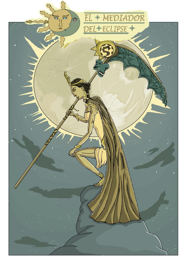 Cover. El Mediador del Eclipse by DannyDiaz