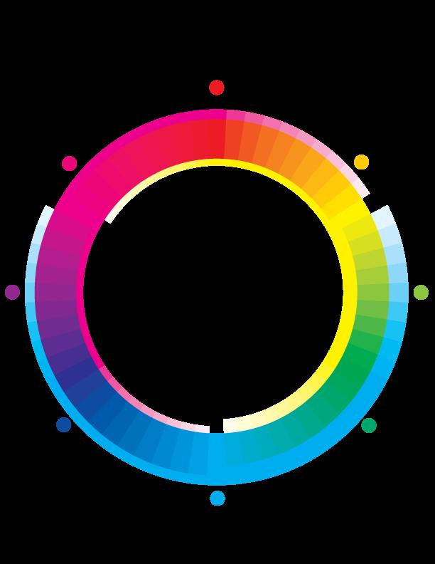 Cmyk Color Wheel By Alexis Hoheimer