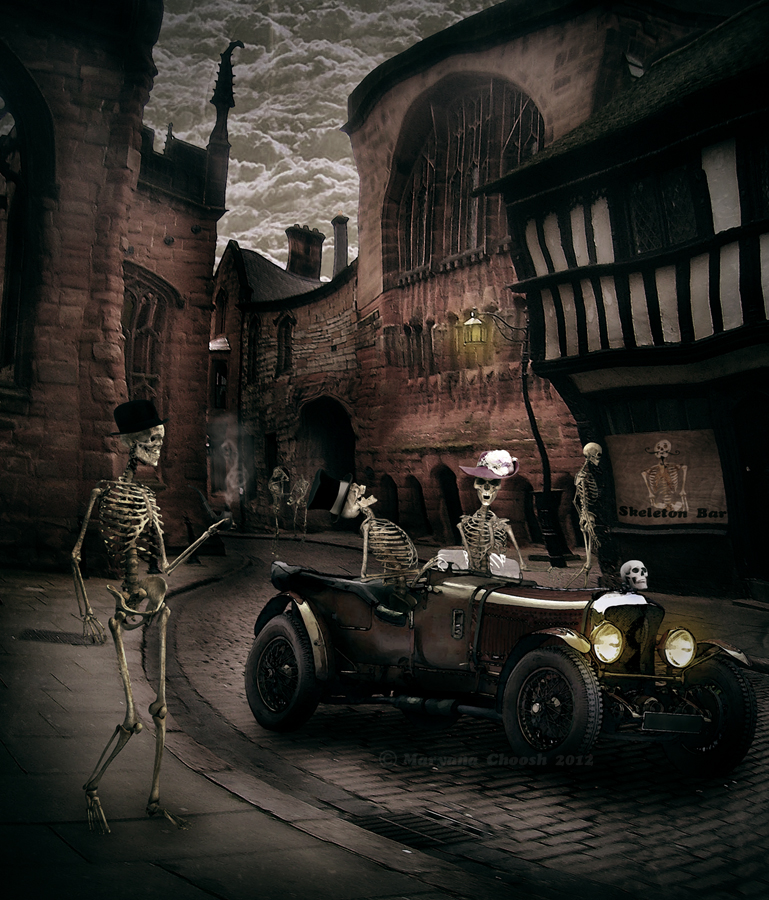 Skeleton street by ChooshM4