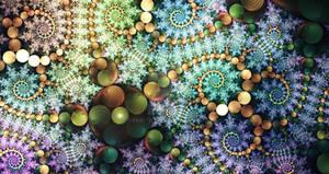 Rainbow mobius starfish
