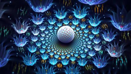 crystal garden by fractist