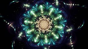 luminous alga