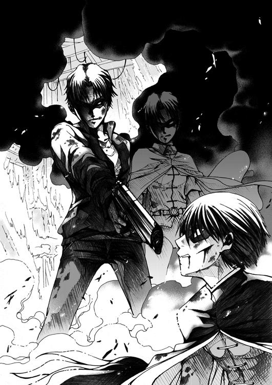 Jason vs Tim by eguana