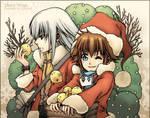 Merry Xmas - postcard