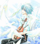 Violin and Kaworu