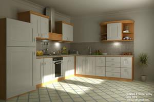 Kitchen Render 04 by cenkkara