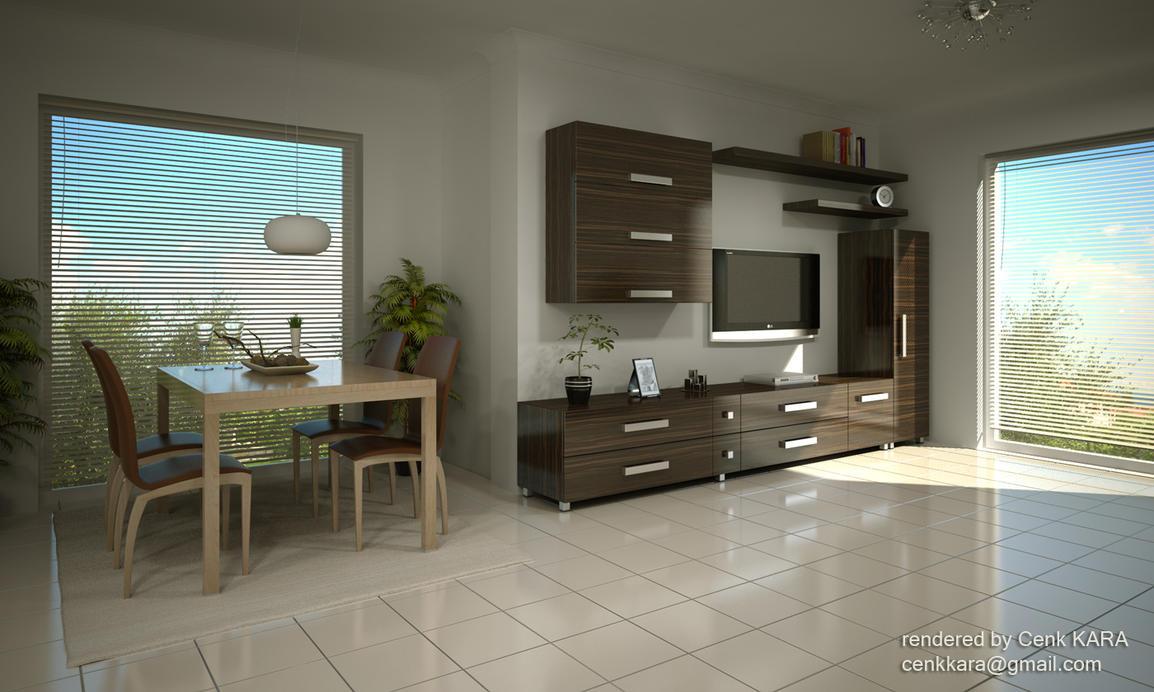 Living Room 02 by cenkkara