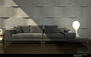 Sofa rendering - Interior2 by cenkkara