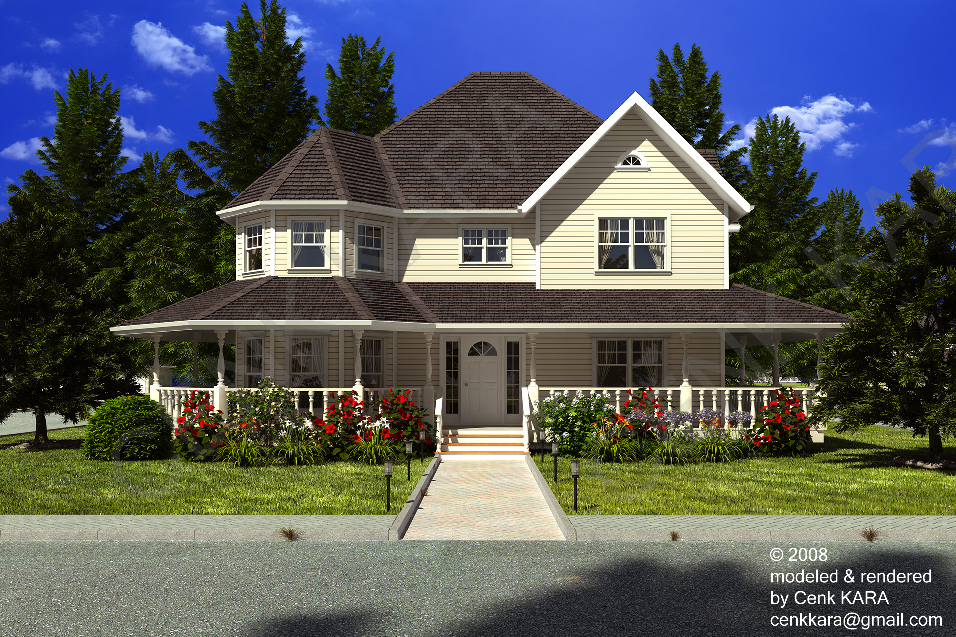 Style Home style home rendering by cenkkara on deviantart