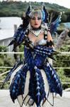 Female Alatreon armor by kamikazecosplay