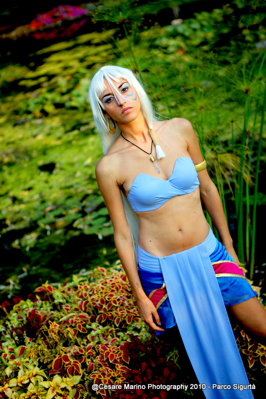Kida atlantis princess by MaddMorgana