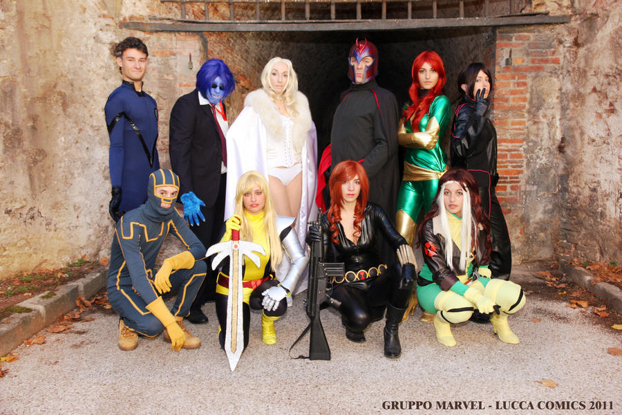 Marvel Group by MaddMorgana