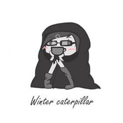 Winter Caterpillar by Aidanna