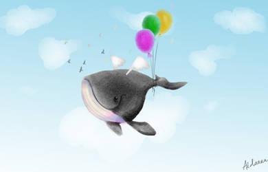 Whale by Aidanna