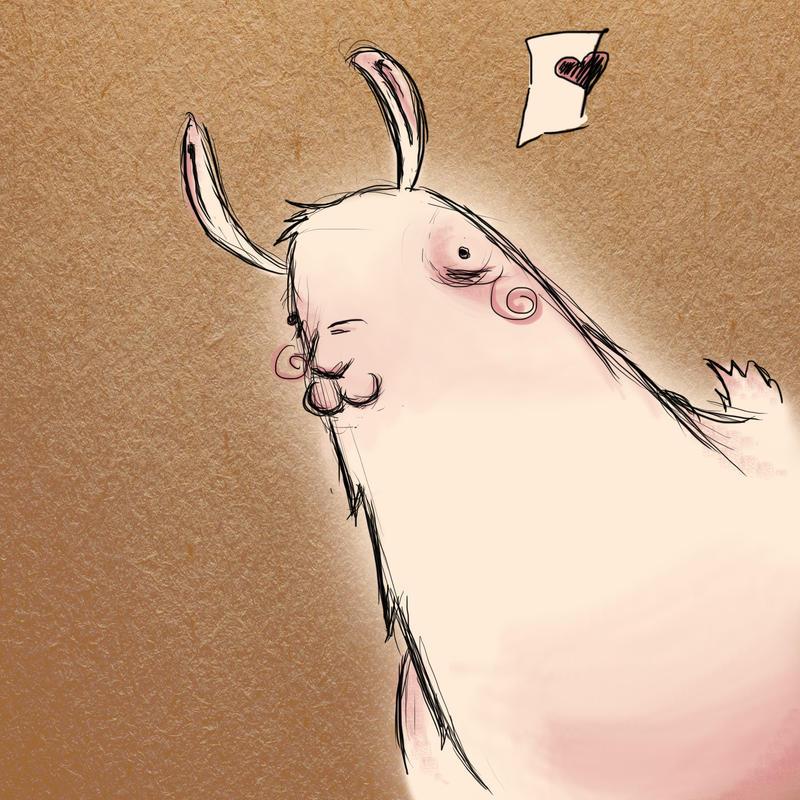 Llama by Aidanna