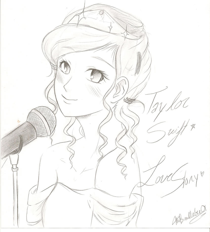 Drawing Lines With Swift : Taylor swift love story by thebumblebee on deviantart