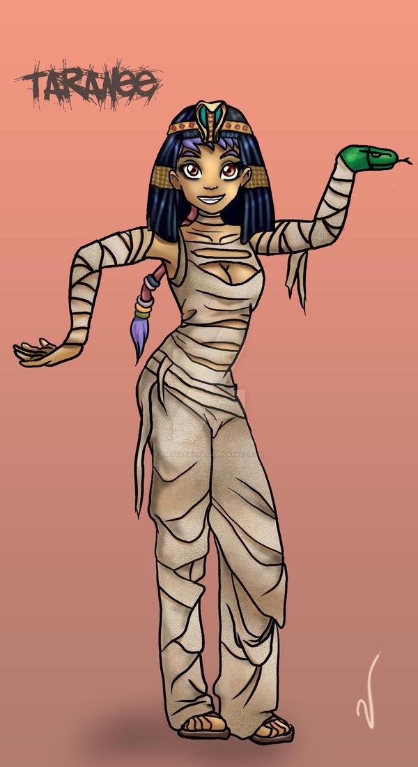 Taranee in Egyptian Dance by iMetalHeava on DeviantArt
