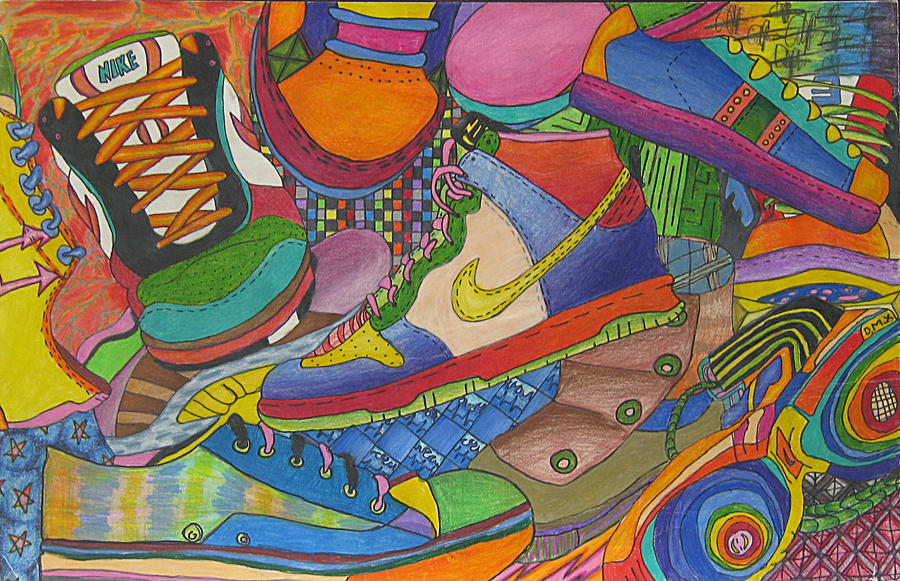 the gallery for gt nike shoes collage