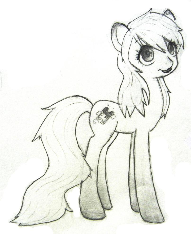 Leesy pony by chocoleesy