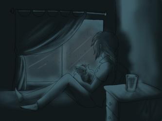 Cold Rainy Night by ZarahX