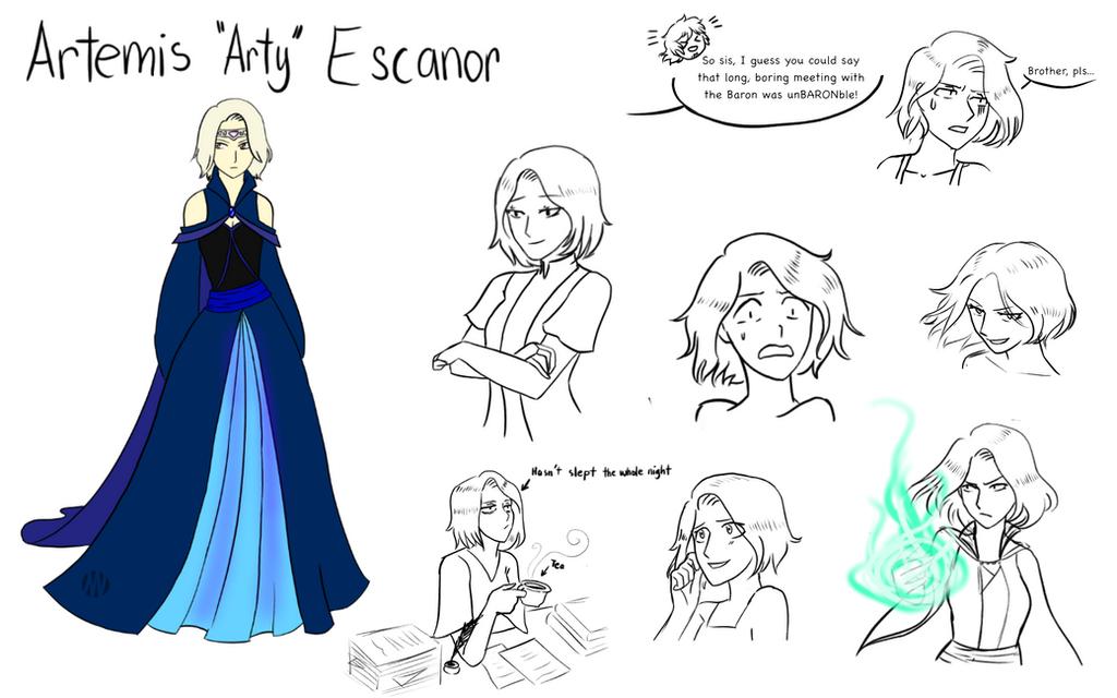Artemis Escanor ref by ZarahX