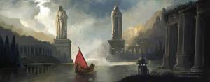 Harbor by churro818