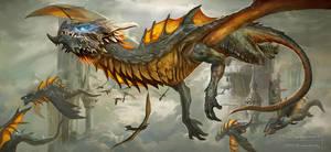 Dragon Migration by churro818