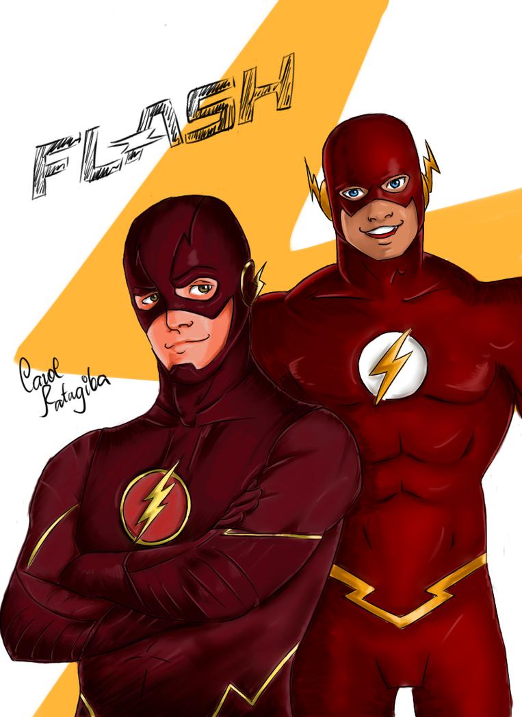 The Flash by CarolinaTatagiba