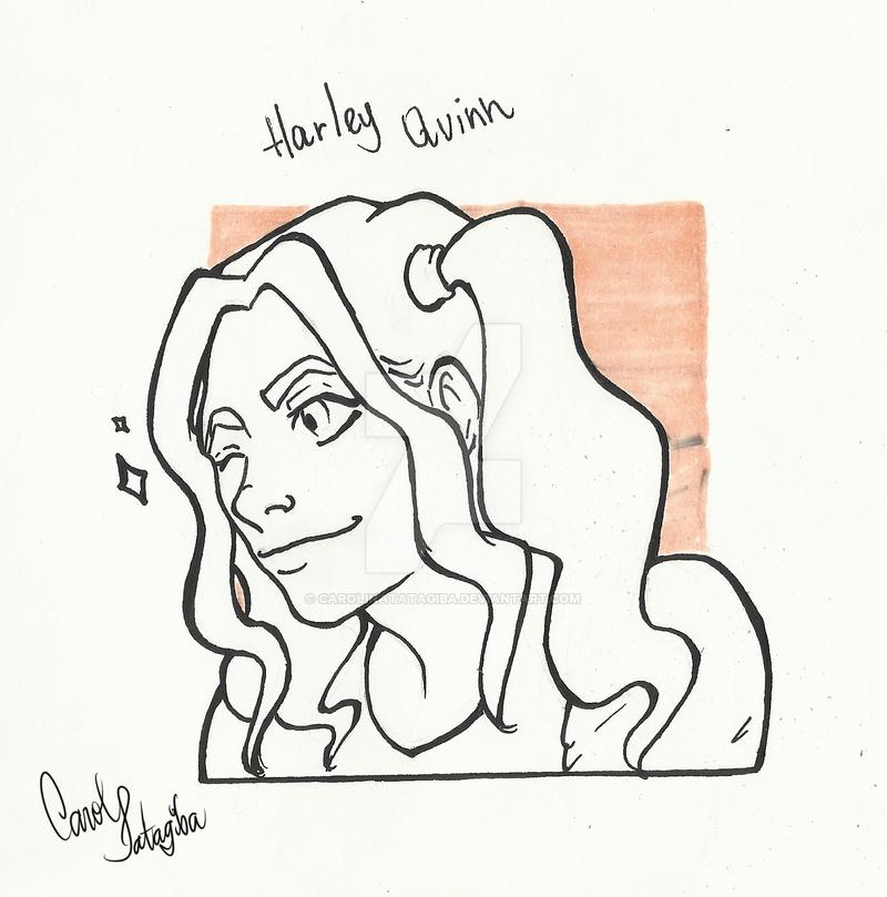 Harley Quinn by CarolinaTatagiba