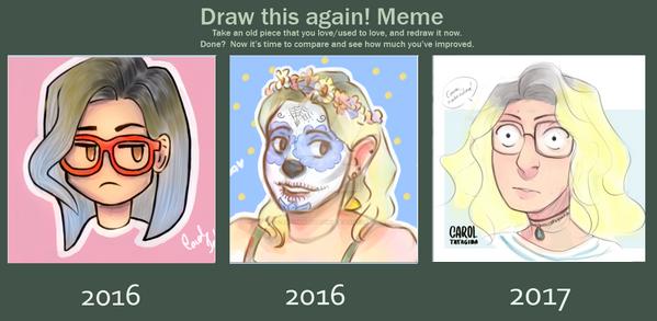 Draw this again  2017 by CarolinaTatagiba